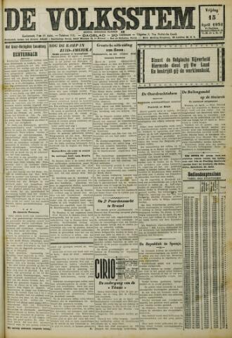 De Volksstem 1932-04-15