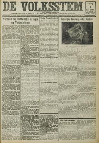 De Volksstem 1931-12-04