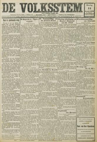 De Volksstem 1930-10-14