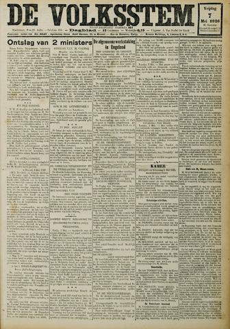 De Volksstem 1926-05-07