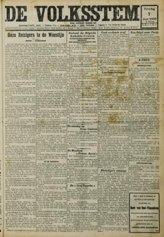 De Volksstem 1930-06-07