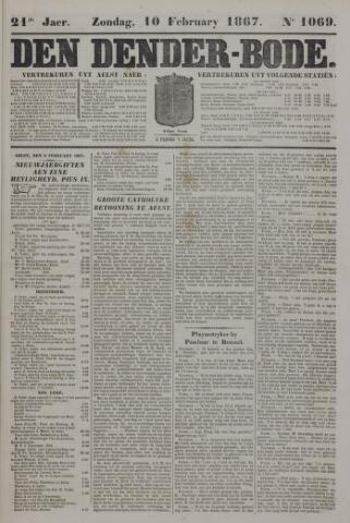 De Denderbode 1867-02-10