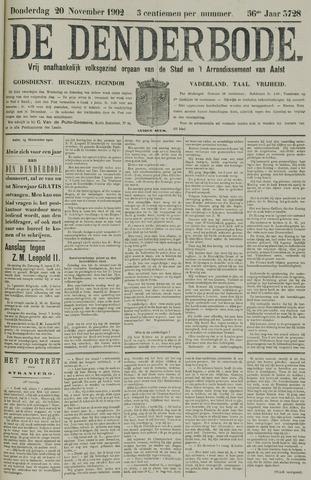 De Denderbode 1902-11-20