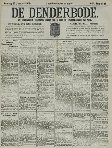 De Denderbode 1909-01-17