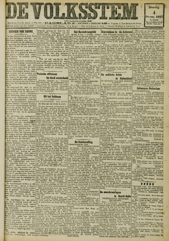 De Volksstem 1923-12-04