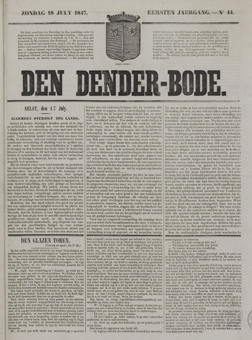 De Denderbode 1847-07-18