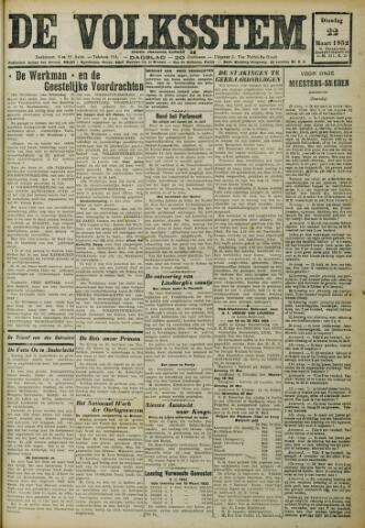 De Volksstem 1932-03-22
