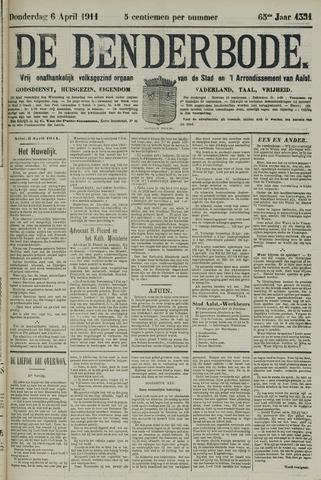 De Denderbode 1911-04-06