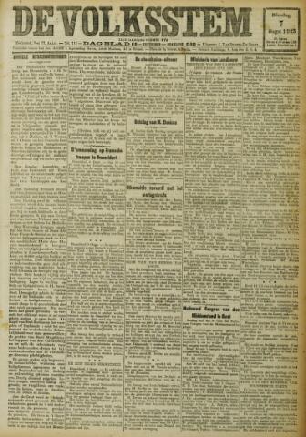 De Volksstem 1923-08-07