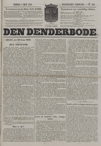 De Denderbode 1859-05-01