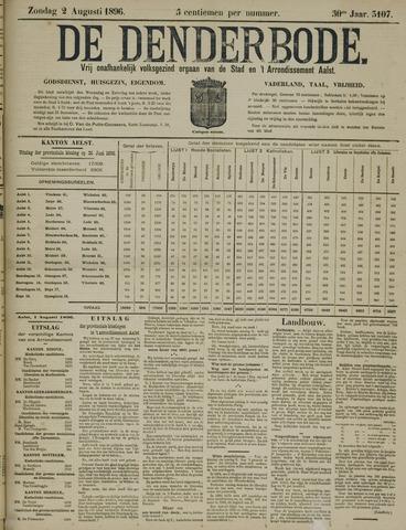 De Denderbode 1896-08-02