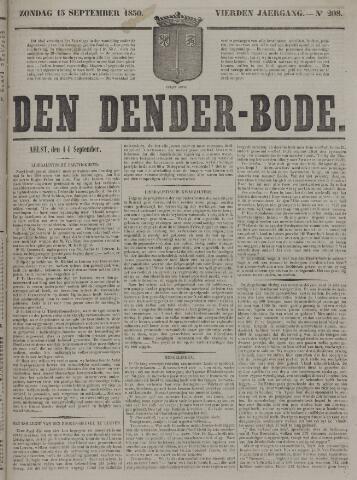 De Denderbode 1850-09-15