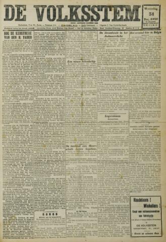 De Volksstem 1930-12-31