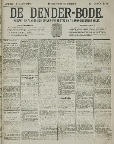 De Denderbode 1891-03-15