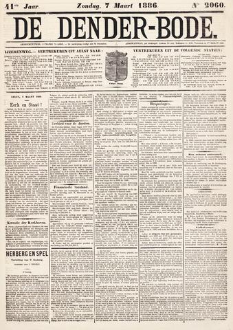 De Denderbode 1886-03-07