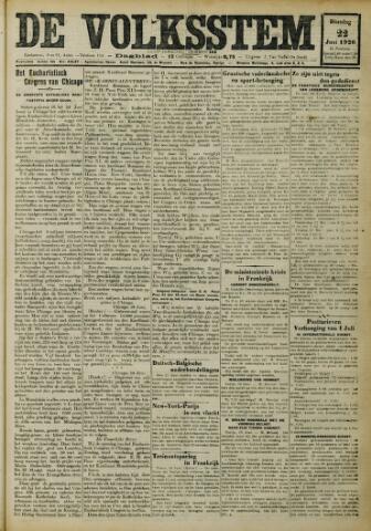 De Volksstem 1926-06-22