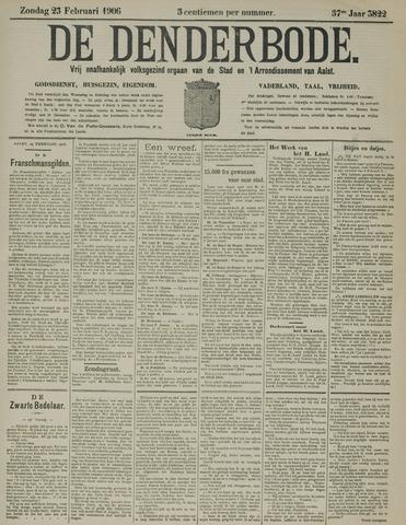 De Denderbode 1906-02-25