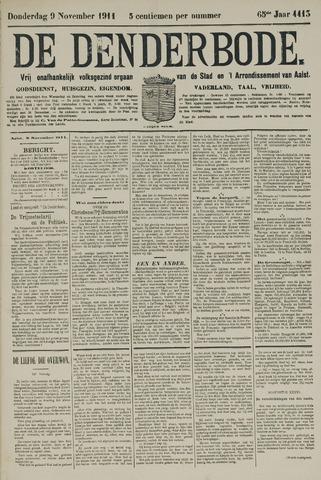 De Denderbode 1911-11-09