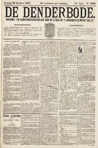 De Denderbode 1887-10-23