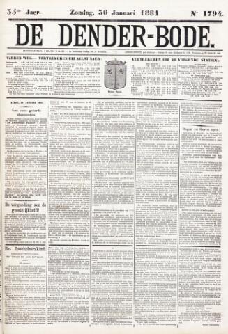 De Denderbode 1881-01-30