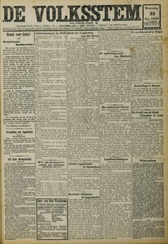 De Volksstem 1930-01-22