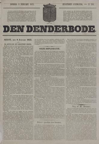 De Denderbode 1853-01-09