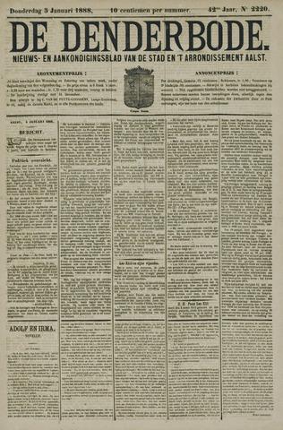 De Denderbode 1888-01-05