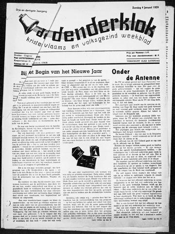 Denderklok 1959