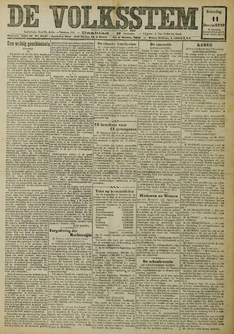 De Volksstem 1926-12-11