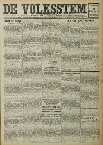 De Volksstem 1926-02-11