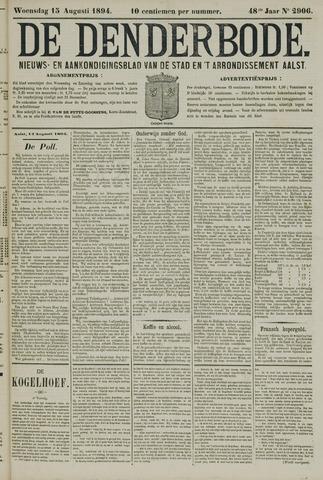 De Denderbode 1894-08-16