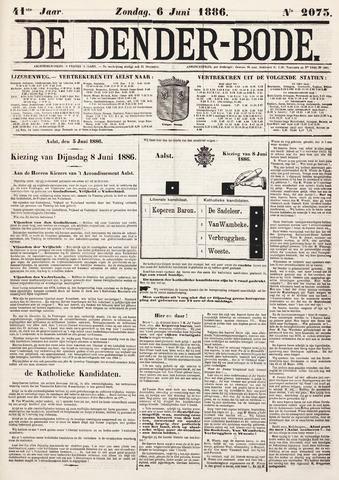 De Denderbode 1886-06-06
