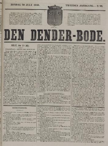De Denderbode 1848-07-30