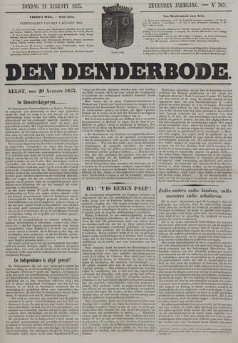 De Denderbode 1853-08-21