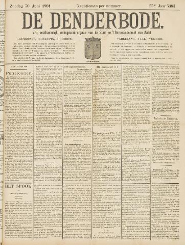 De Denderbode 1901-06-30