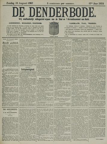 De Denderbode 1907-08-11
