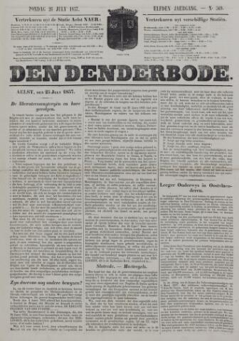 De Denderbode 1857-07-26