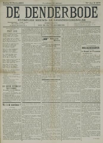 De Denderbode 1915-10-24