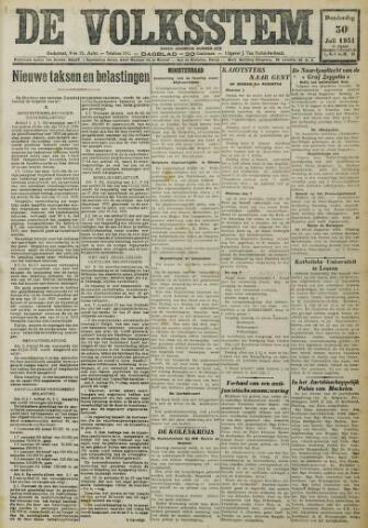 De Volksstem 1931-07-30