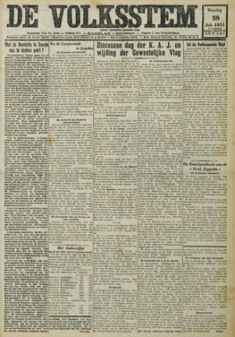 De Volksstem 1931-07-28