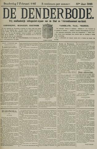 De Denderbode 1907-02-07