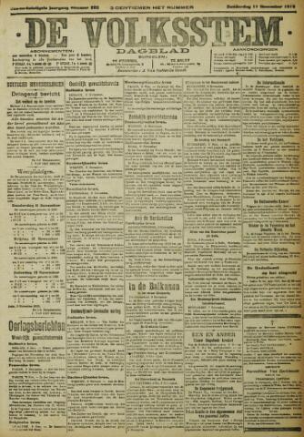 De Volksstem 1915-11-11