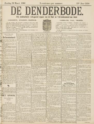 De Denderbode 1901-03-31