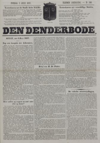 De Denderbode 1857-07-05