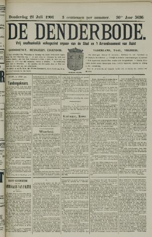 De Denderbode 1904-07-21