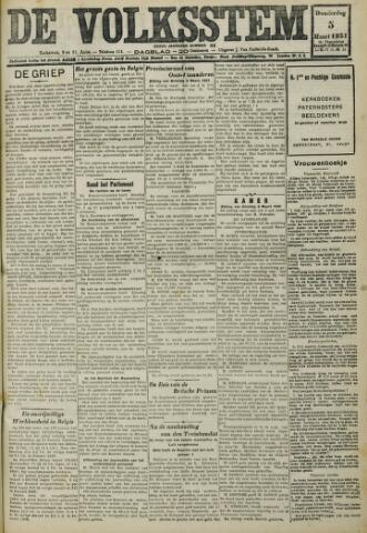 De Volksstem 1931-03-05
