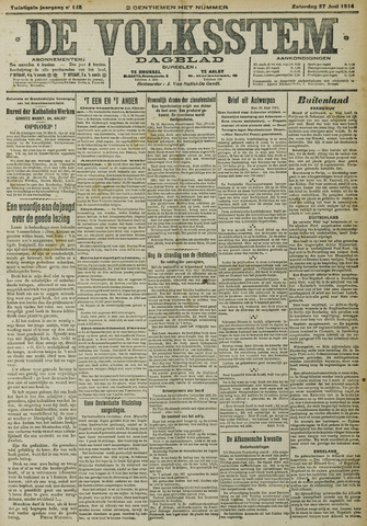 De Volksstem 1914-06-27