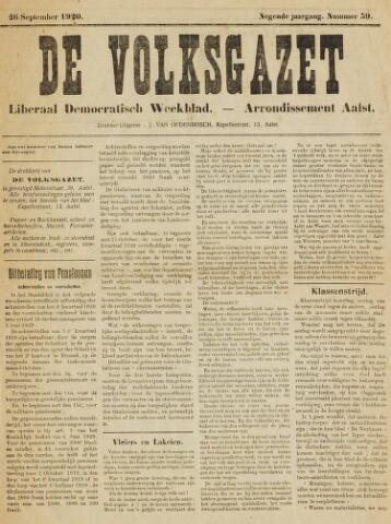 De Volksgazet 1920