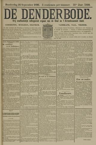 De Denderbode 1896-09-24