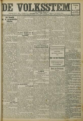 De Volksstem 1930-03-07